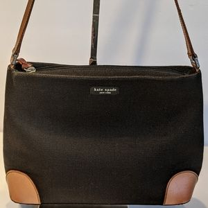 Vintage Kate Spade Canvas Shoulder Bag